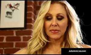 Mega Hawt Milf Julia Ann Soaks Their way Huff and feeling on touching Muff Juice!